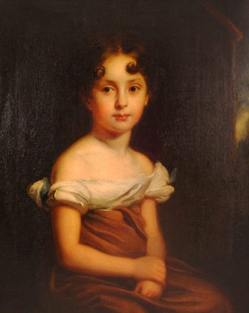 Click to see full size: Portrait of a Young Girl