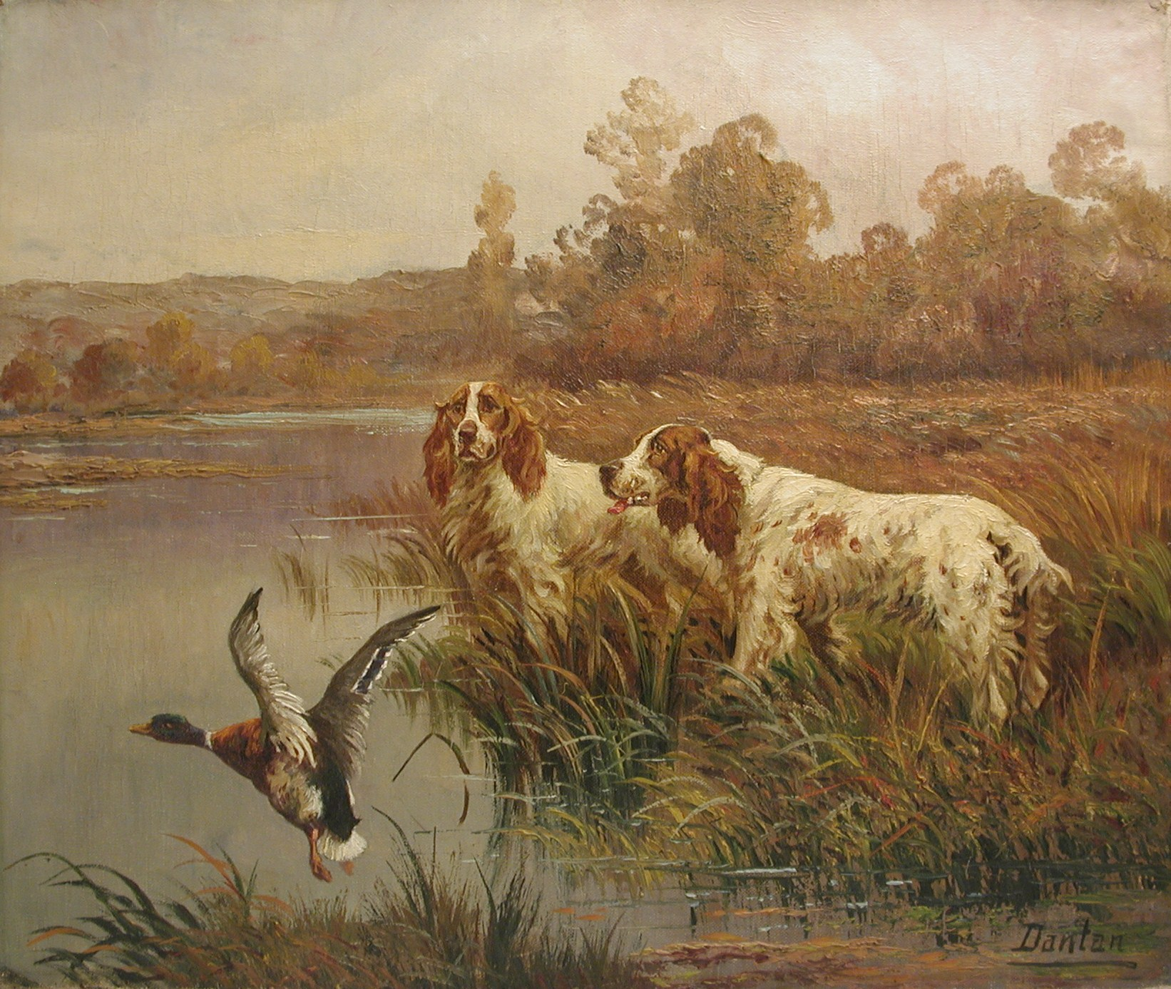 Click to see full size: Edouard Joseph Dantan (1848-1897)