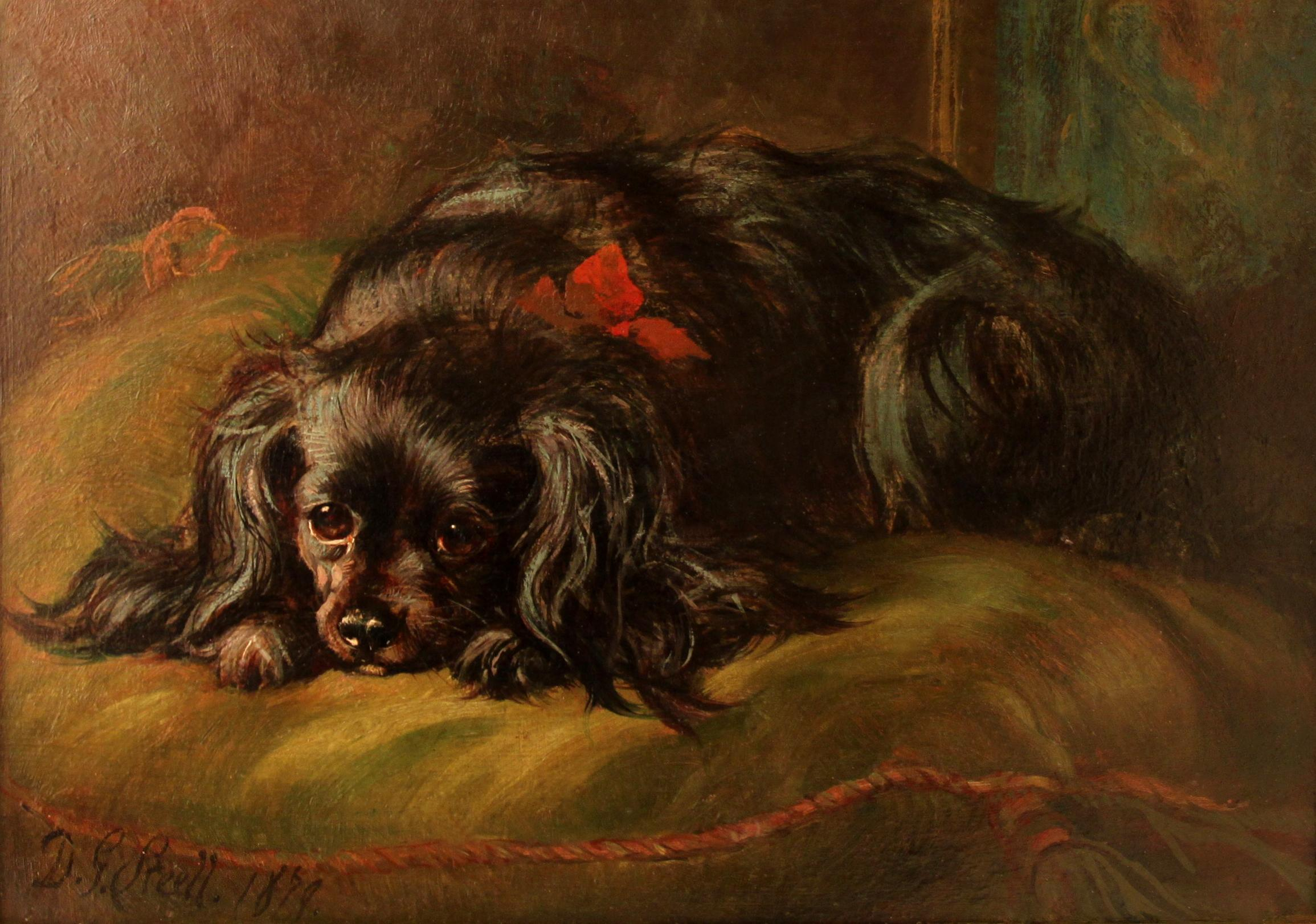 Click to see full size: King Charles Cavalier by David George Steell