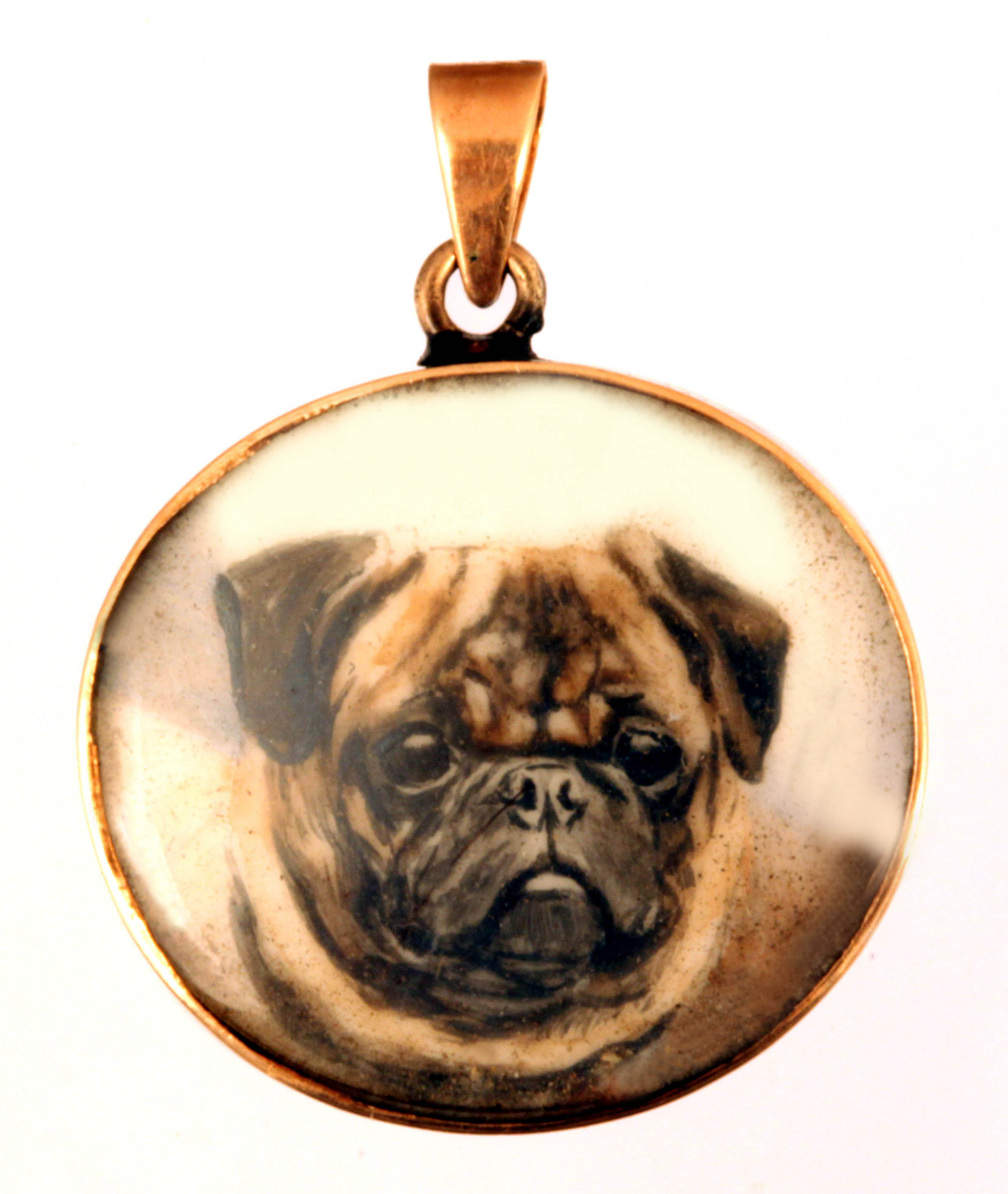 Click to see full size: Pendant of the Pug,
