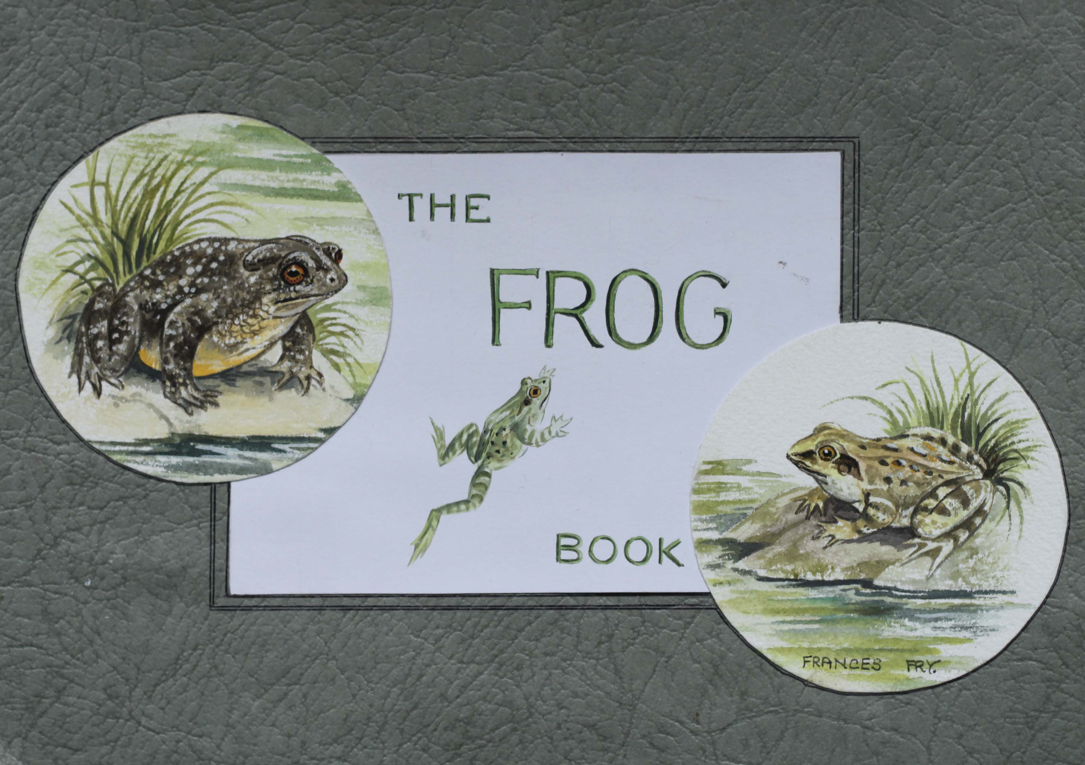 Click to see full size: The ? Book of Frogs?  by ?Frances Fry?
