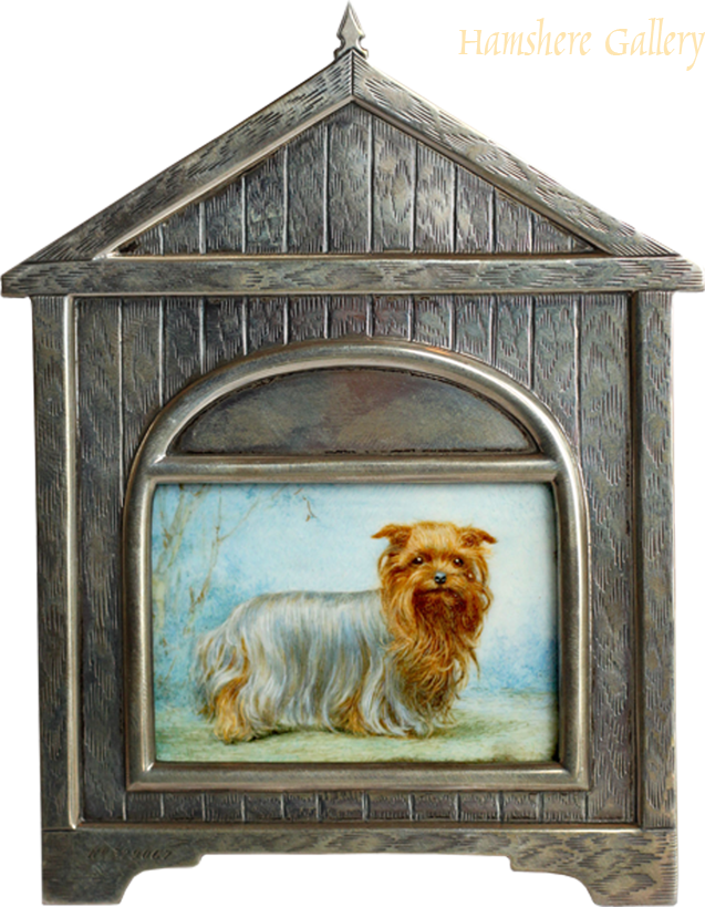 Click for larger image: Yorkshire terrier , Ivory miniature - Yorkshire terrier , Ivory miniature