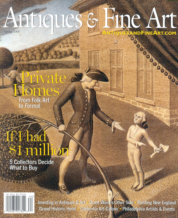 Click to see full size: Antiques and Fine Art Spring 2006 Cover