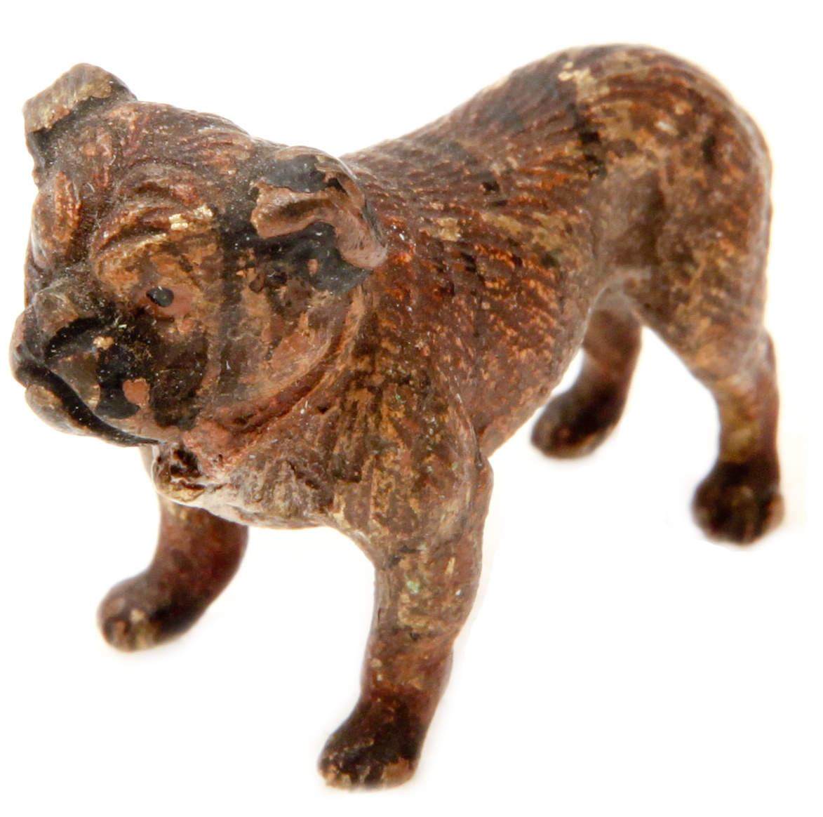 Click to see full size: Austrian bronze of a Bulldog