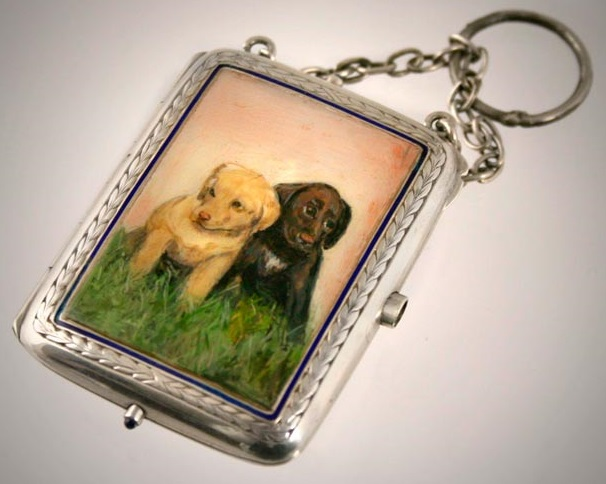 Click to see full size: Labrador Puppy Miniature Case