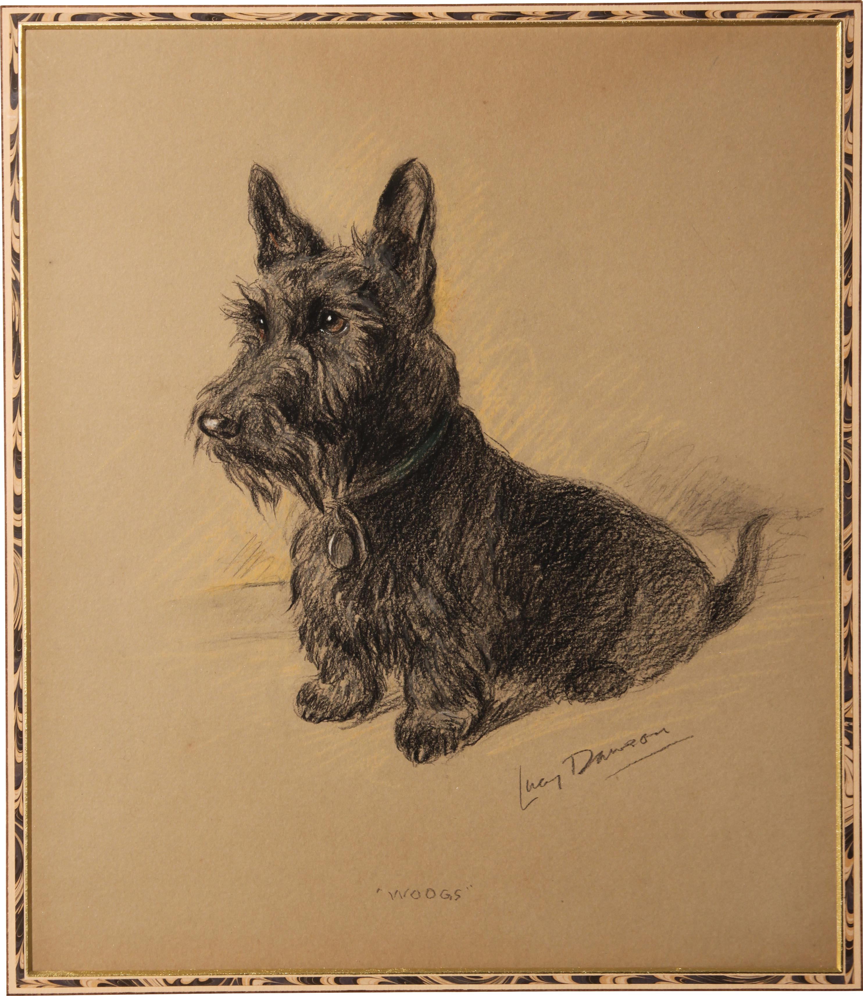 Click for larger image: Scottish Terrier by Lucy Dawson - Scottish Terrier by Lucy Dawson