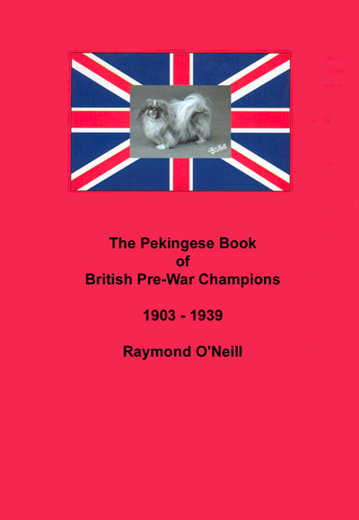 Click to see full size: Pekingese Book of British Pre-War Champions