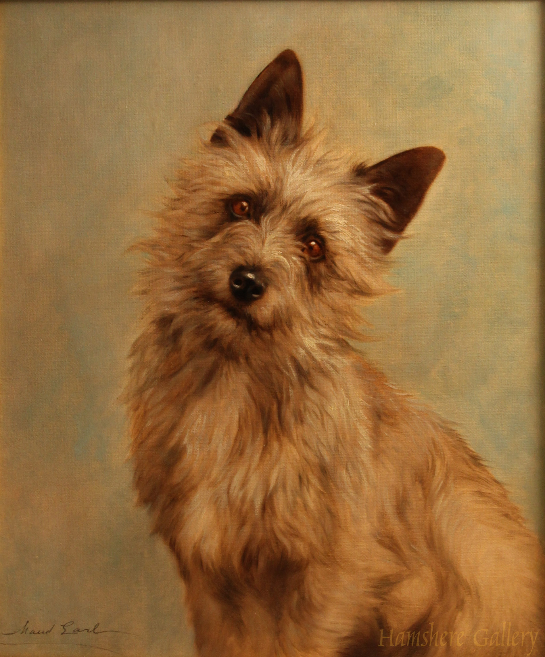Click to see full size: Cairn Terrier by Maud Earl
