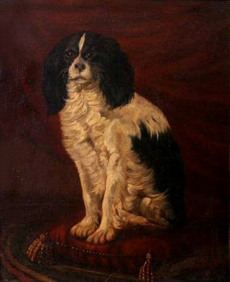 Click to see full size: King Charles Cavalier by Joseph Edouard Stevens