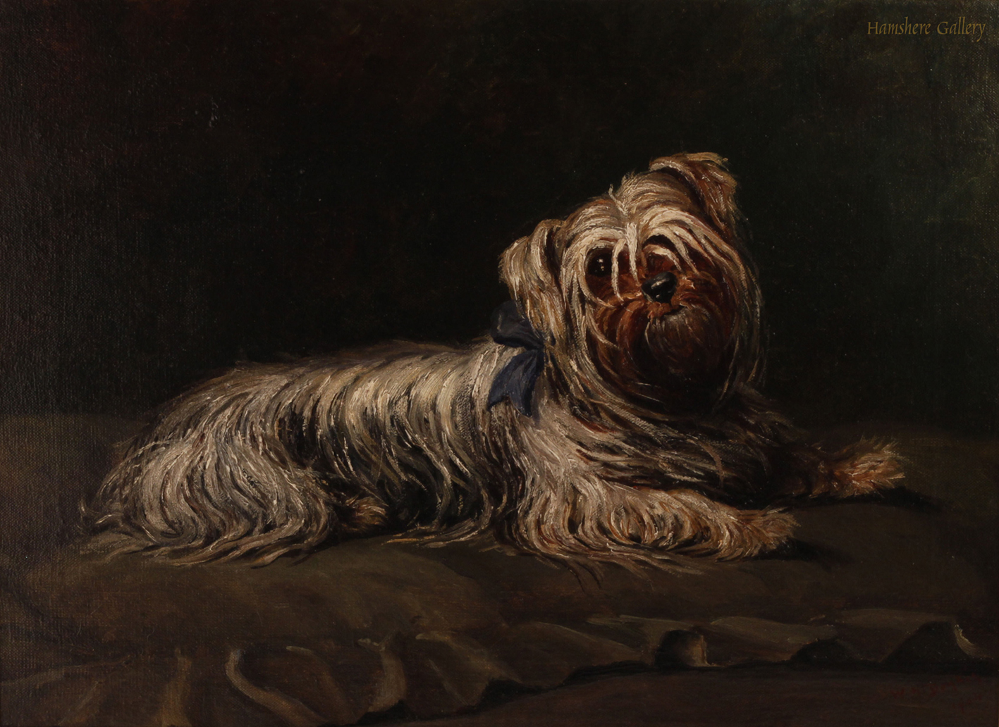 Click to see full size: Yorkshire Terrier by Winifred H Donkin