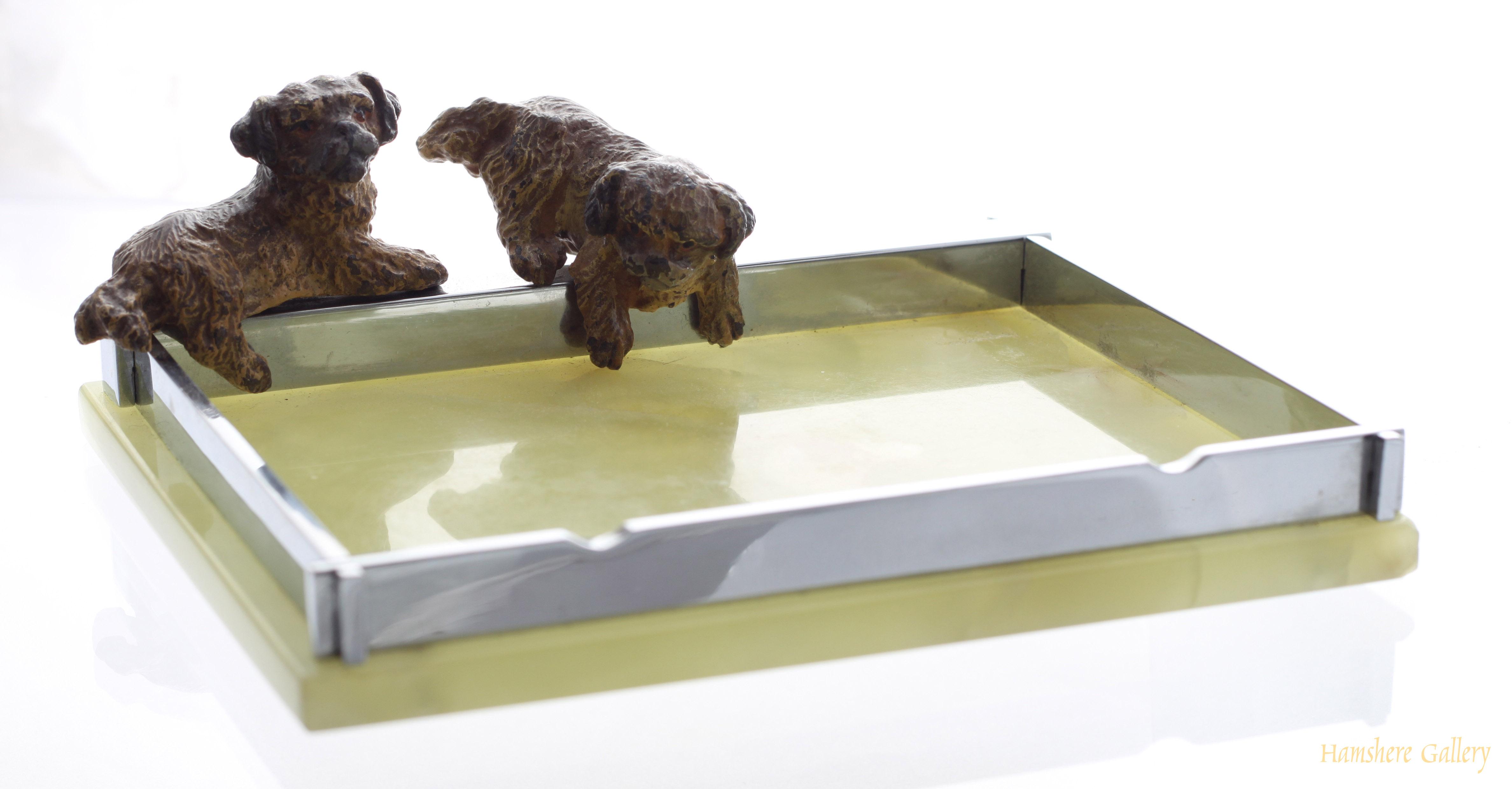 Click to see full size: Tibetan Spaniel tray