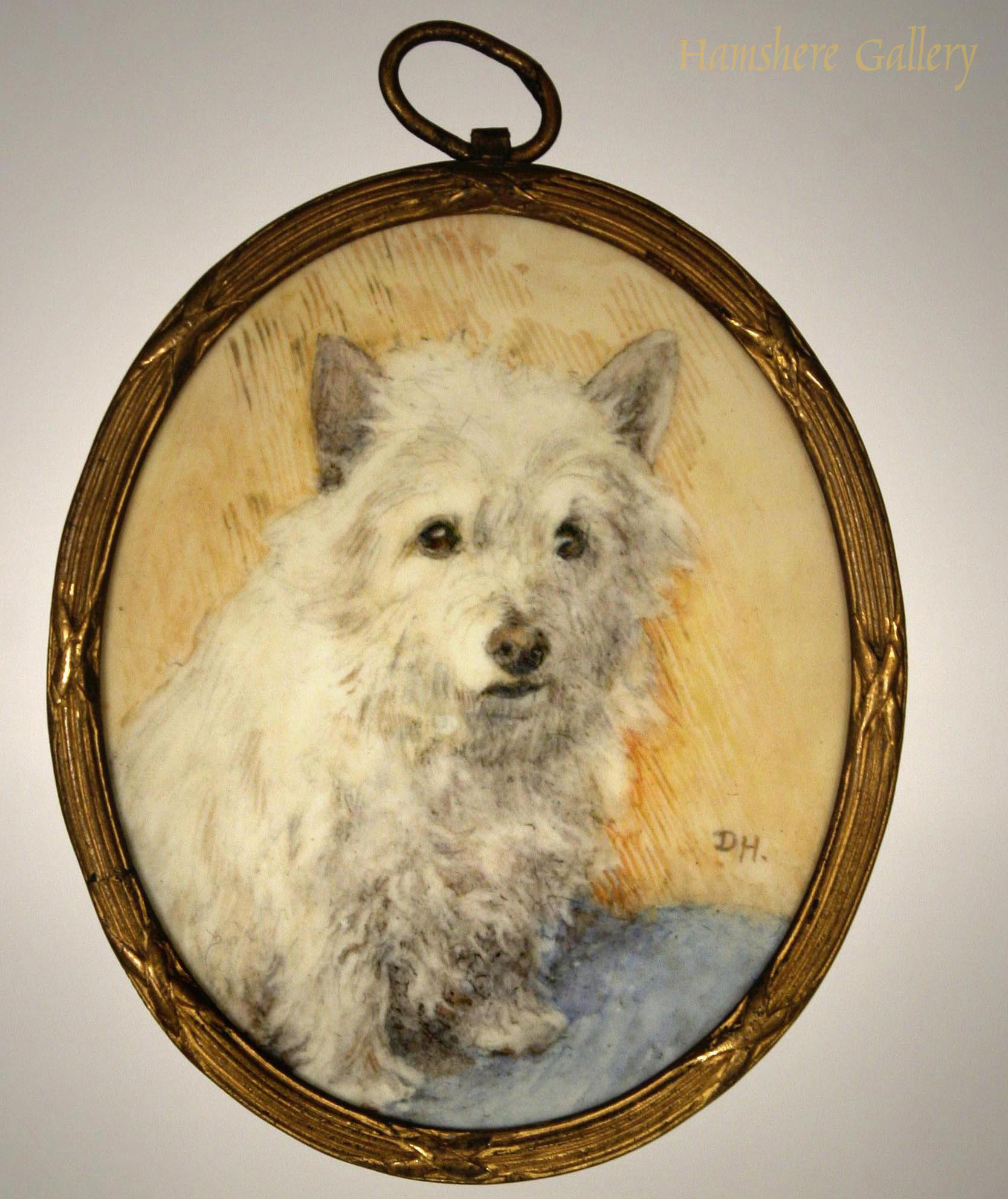 Click to see full size: West Highland Terrier by Miss Dorothy S Hallett