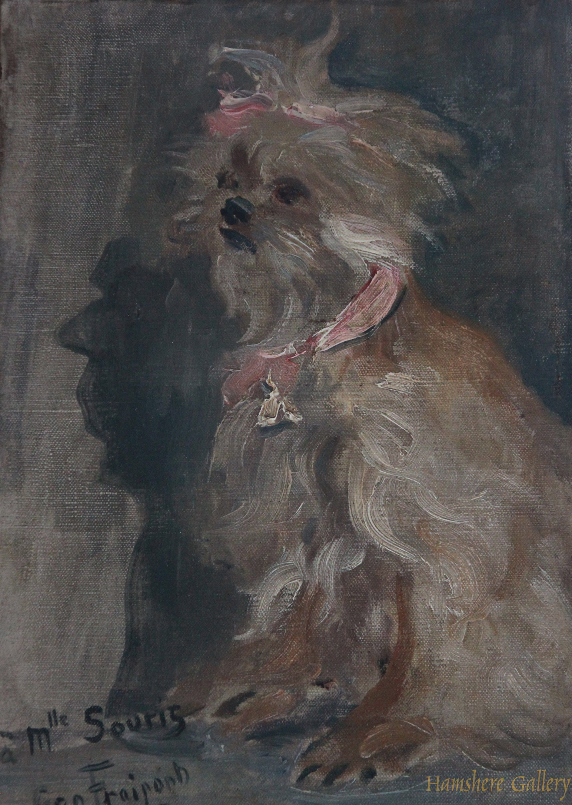 Click to see full size: Yorkshire Terrier by Georges Fraipont