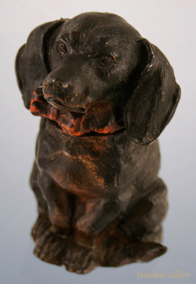 Click to see full size: Dachshund Inkwell