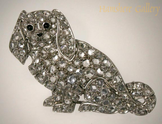 Click to see full size: King Charles Cavalier Brooch