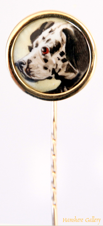 Click to see full size: Enamel Dalmation Pin