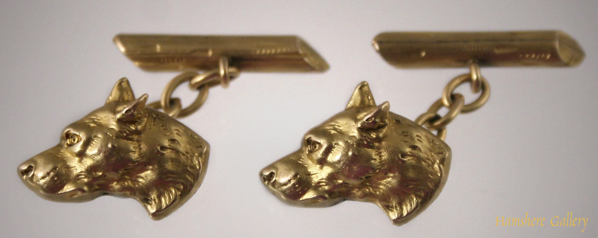 Click to see full size: French Sheepdog fix cufflinks