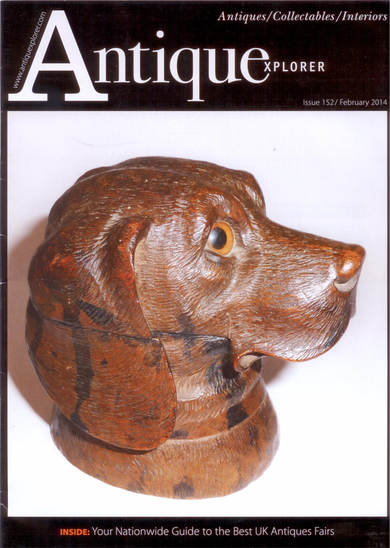 Click to see full size: Antique Explorer Issue 152 February 2014 - Antique Explorer Issue 152 February 2014