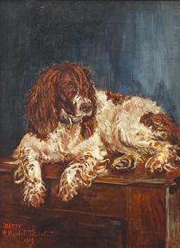Click to see full size: Springer Spaniel by Wasdell Walter Trickett