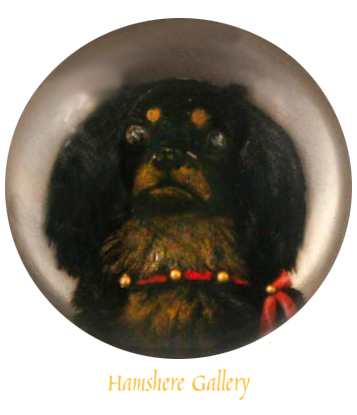 Click to see full size: King Charles Cavalier Pendant