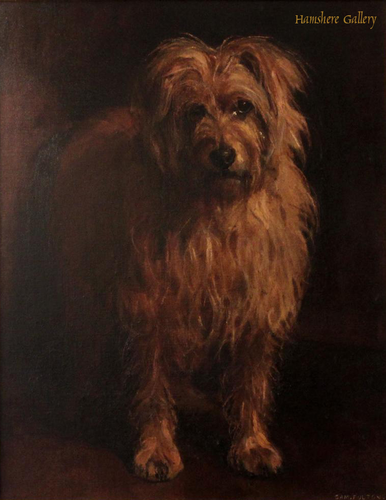 Click to see full size: Old English Bobtail by Samuel Fulton