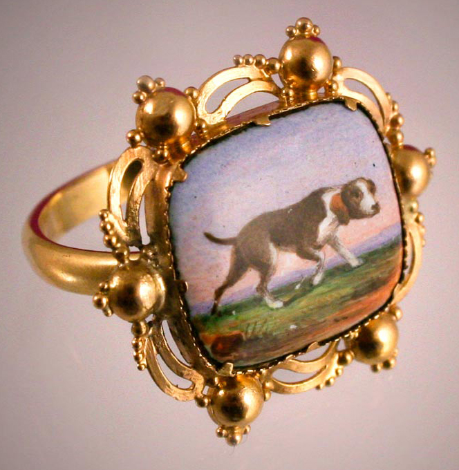 Click for larger image: Pointer ring - Pointer ring