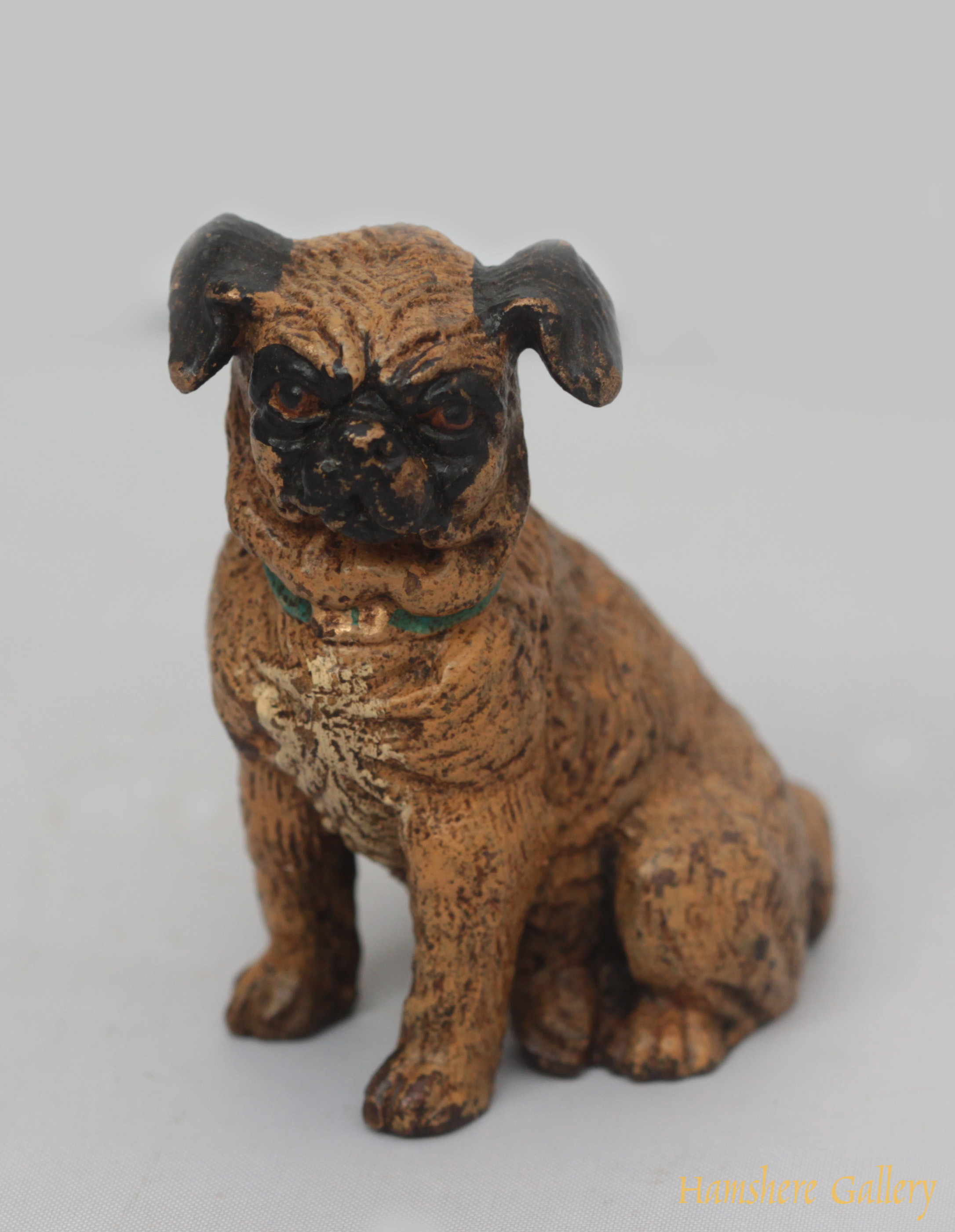 Click to see full size: Pug from the foundry Franz Xaver Bergmann