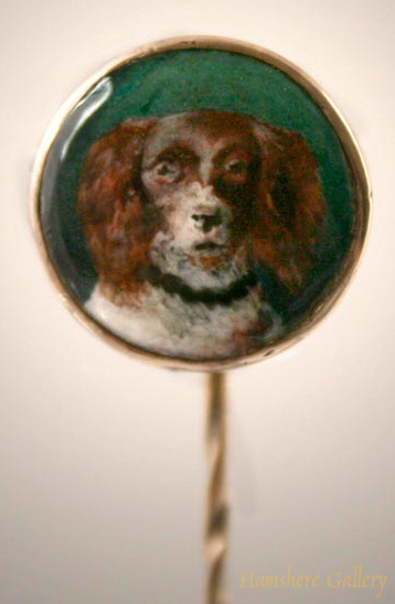 Click to see full size:  Spaniel Stick Pin