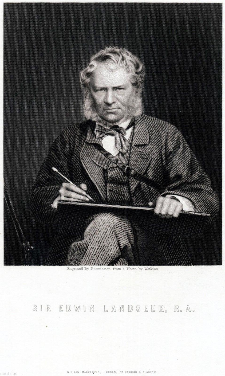 Click to see full size: Edwin Landseer - Edwin Landseer