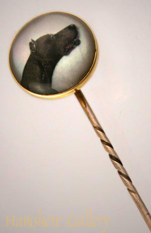 Click to see full size: Great Dane Stick Pin