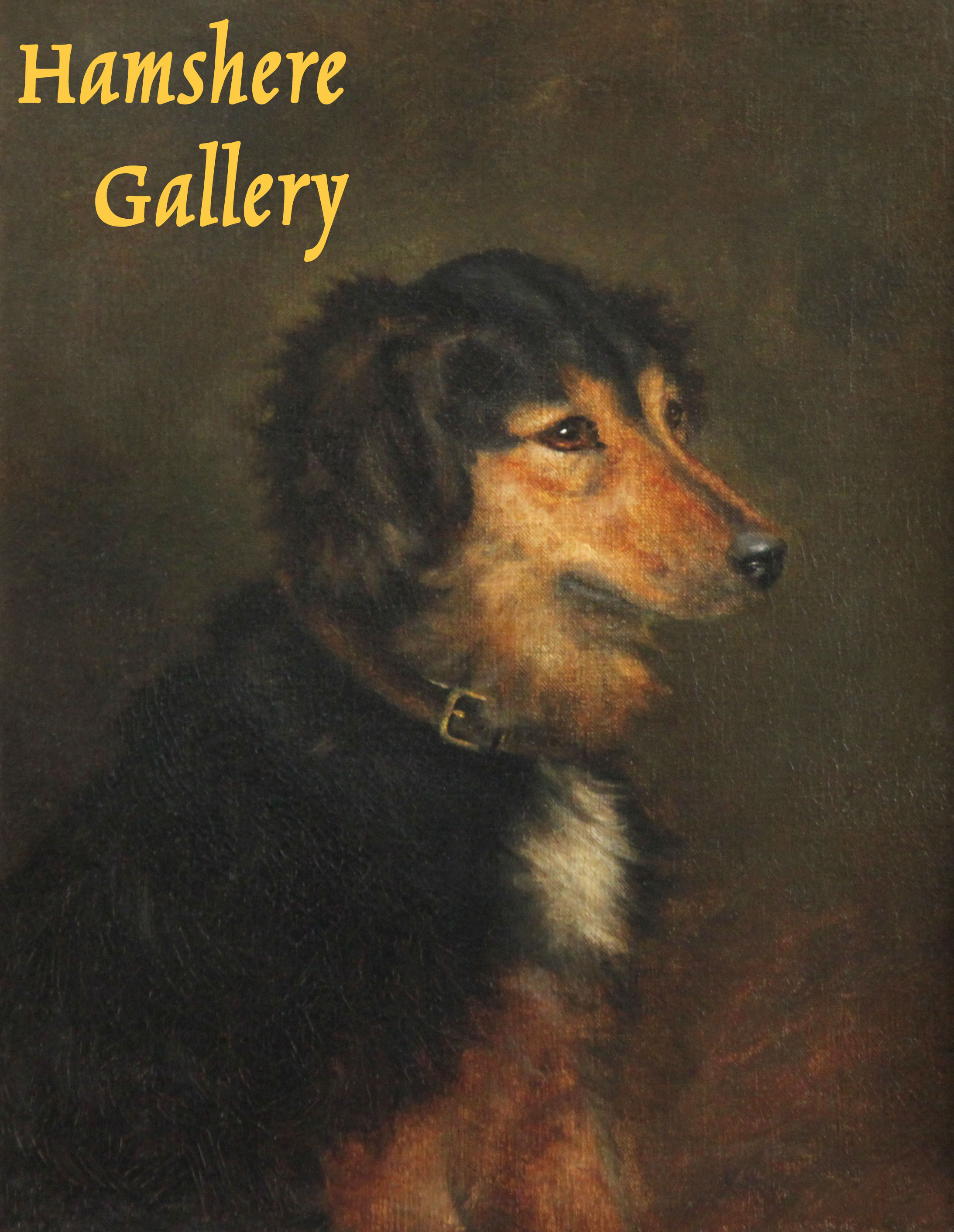 """Click to see full size: An oil of a Collie type favoured by Queen Victoria such as """"Noble"""" or """"Fern"""", attributable to Robert L Alexander, R.S.A, R.S.W. (Scottish, 1840 - 1923)"""