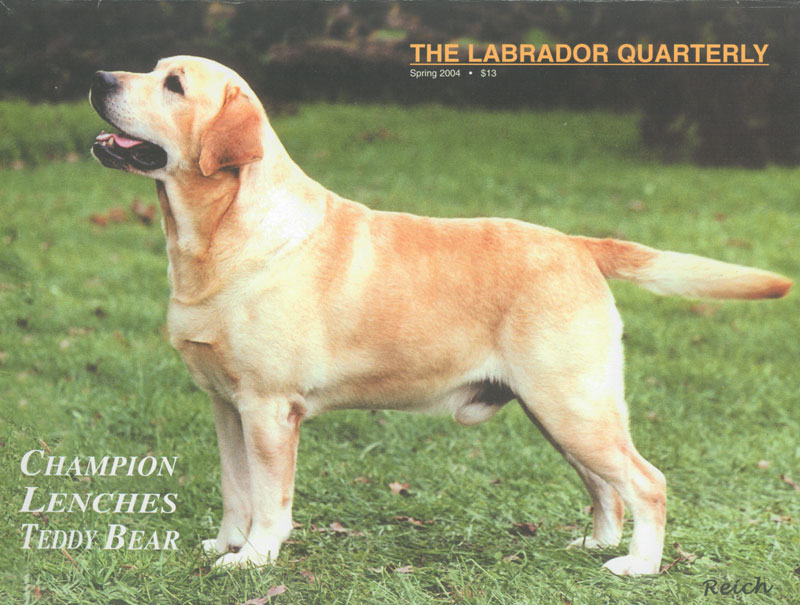 Click to see full size: Labrador Monthly Spring 2004 Front Cover